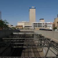 Railway across El Paso Downtown, Эль-Пасо