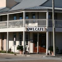 The OWL CAFE in Apalachicola, Апалачикола