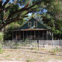 frame vernacular, historic Apalachicola Florida (11-27-2011), Апалачикола