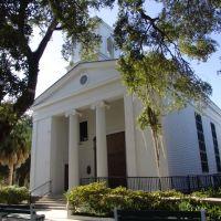 1838 Trinity Church, 2ND OLDEST CONTINUALY USED CHURCH IN FLORIDA, Apalachicola Florida (11-26-2011), Апалачикола