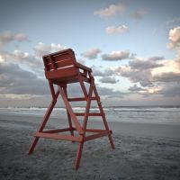 Lifeguard chair, Атлантик-Бич