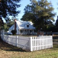 historic Creole cottage, Bagdad Fla (12-31-2011), Багдад
