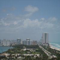 Bal Harbour Resort, view to the north afar, Бал-Харбор