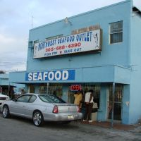 Northwest Seafood Outlet, Miami,Florida, Банч-Парк