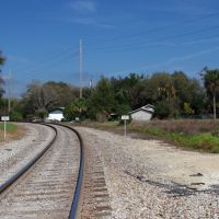 2014 02-25 Bartow, Florida - E Church St rail crossing, Бартау