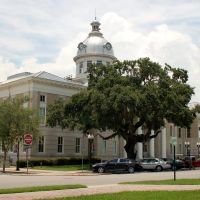 Old Polk County Court House, Bartow, FL, Бартау