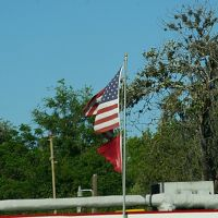 Bellview, Florida US flag, Бельвью