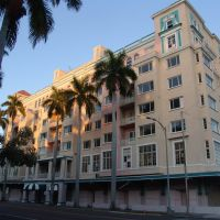 old hotel, downtown Bradenton (1-7-2012), Брадентон
