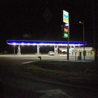 2012, Brandon, FL - night lights, Брандон