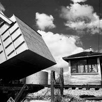 Bridge tender shack, Miami River, Miami, FL (1987), Браунсвилл