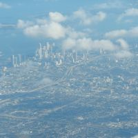 View SE of Downtown Miami from the air- descending, Jan. 28, 2013, Браунсвилл