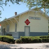Restored Florida East Coast Railway Depot at Vero Beach, FL, Веро-Бич