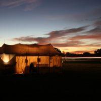 sutler at night, Вортингтон-Спрингс
