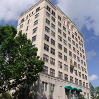 Dixie Hotel - Seagle Building, built in 1927, Gainesville NR (3-31-2012), Гайнесвилл