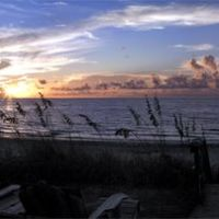 Sunrise over Sea Oats and Atlantic, Галф-Стрим