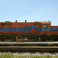 South Central Florida Express Railroad EMD GP18 No. 9021 at Clewiston, FL, Гарлем
