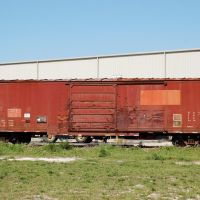South Central Florida Express Railroad Box Car No. 9113 at Clewiston, FL, Гарлем