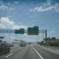 I-95 near palm beach Area, Глен-Ридж