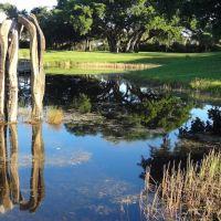 Sculpture in Dreher Park, West Palm Beach, Глен-Ридж