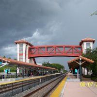 Amtrak Train Station Crossover bridge, Голливуд
