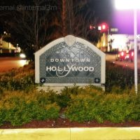 Hollywood, FL welcome sign, Голливуд