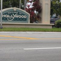 Hollywood Welcome Sign Pembroke park Road, Голливуд