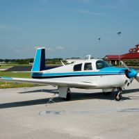 1968 Mooney M20C N6743N at Bartow Municipal Airport, Bartow, FL, Гордонвилл