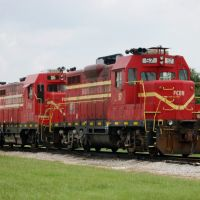 Florida Central Railroad Locomotives No 56 and No. 57 at Bartow, FL, Гордонвилл