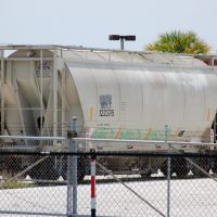Adler Funding LLC Covered Hopper No. 122376 at Bartow, FL, Гордонвилл