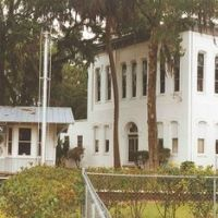1889 Clay County courthouse, now historical museum, Green Cove Springs, Florida (6-1996), Грин-Ков-Спрингс