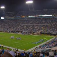 Jacksonville Municipal Stadium during Jaguars/Colts Game 12/18/08, Джексонвилл