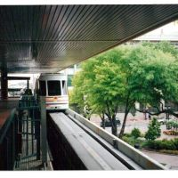 Hemming Plaza Station, JTA Skyway people mover, Jacksonville, Florida, Джексонвилл