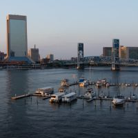 Downtoan Jacksonville View with Marina 2, Джексонвилл