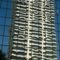 Reflection of Riverplace Tower, Downtown Jacksonville, Джексонвилл