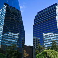 Double Reflection, Downtown Jacksonville, Джексонвилл