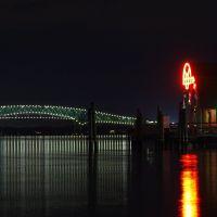 Night view, Джексонвилл