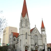 Immaculate Conception Church, 121 East Duval Street Jacksonville, FL 32202, built 1910, Джексонвилл