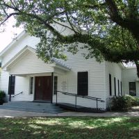 historic church, Dover Fla (7-14-2012), Довер