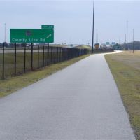 Suncoast Bike trail, pasco County, Еглин Аир Форк Бас