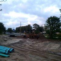 Construction, Еглин Аир Форк Бас