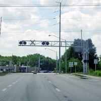 2014 06-05 Florida - around Winter Haven - rail crossing, Игл-Лейк