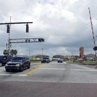 2012, Lakeland, Fl - rail crossing - Az Park Rd, Итон-Парк