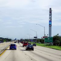 2014 07-16 Florida - along I-4 -  Fox tower, Итонвилл