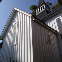 Maitland Episcopal church, built in the carpenter gothic style in 1881 (2-24-2011), Итонвилл