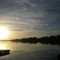 Sunrise over Lake Maitland, Итонвилл