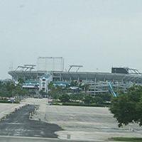 Dolphin stadium, Карол-Сити