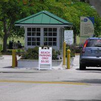 Crandon Park South Beach entrance, Ки-Бискейн