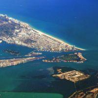 Miami Beach, Dooge and Fisher island, Ки-Бискейн