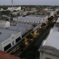 Key West - Duval Street view from La Concha (3/2006), Ки-Уэст