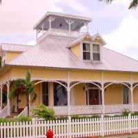 classic Florida architecture, 1893 Sandlin house, Punta Gorda Fla (8-2008), Кливленд